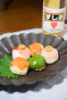 オリーブはまちのてまり寿司